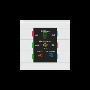 MDT Glazen KNX tastsensor II Smart wit