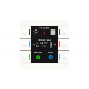 MDT KNX tastsensor Smart 86 zuiver wit