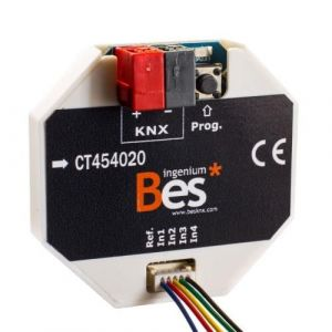 Ingenium Bes KNX 4x digitale ingang / pulsdrukkerinterface
