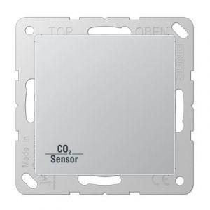 Jung KNX CO₂ Sensor AS500 aluminium