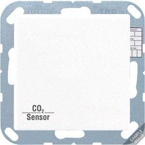 Jung KNX CO₂ Sensor A/AS slagvast zwart