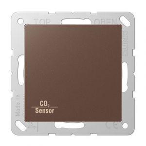 Jung KNX CO₂ sensor AS500 mokka