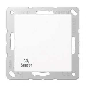 Jung KNX CO₂ Sensor AS500 alpine wit