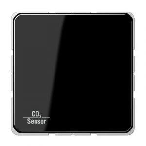 Jung KNX CO₂ Sensor CD500 zwart