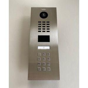 Doorbird Intercom RVS - 1 beldrukker en codepaneel VAN €755,37 VOOR €549,00