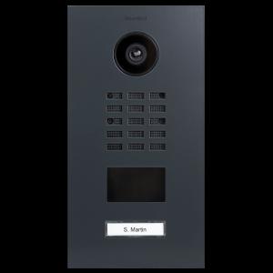 Doorbird Intercom D2101V antraciet - 1 beldrukker