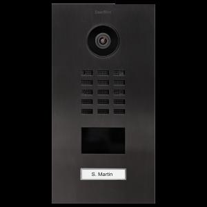 Doorbird Intercom inbouw Titanium - 1 beldrukker