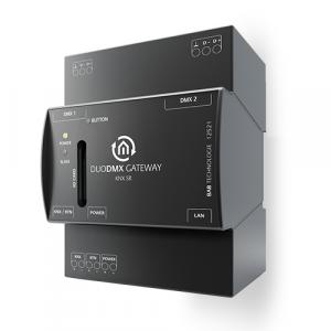 Bab-tec Duo DMX KNX Gateway KNX/TP 2x512 kanalen dinrail