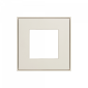Ekinex frame t.b.v. schakelmateriaal Zuiver wit