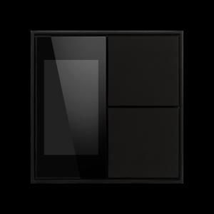 Ekinex KNX thermostaat met luchtvochtigheid Zwart