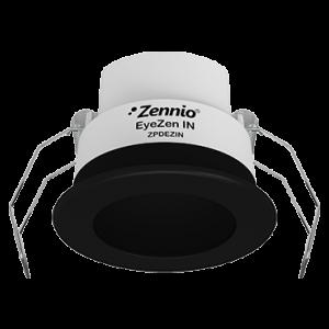 Zennio EyeZen IN Bewegingsmelder met helderheidssensor - zwart