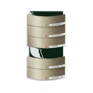 ABB Tastsensor alpha-exclusive KNX Triton MF/IR 5/10v a-palladium 6320/50-260