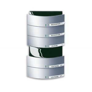 ABB Tastsensor future linear KNX Triton MF/IR 5/10v f-aluzilver 6320/50-83