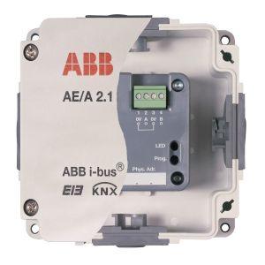 ABB Analoge ingang i-bus KNX analoge ingang 2v opbouw AE/A 2.1