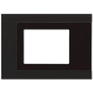 Jung KNX afdekraam t.b.v. SP5.1KNX glas zwart
