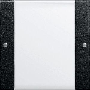 Gira bedienings / wippenset 1v zwart mat 55