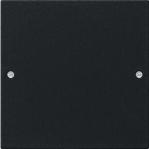 Gira wipset 1-voudig zwart mat 55