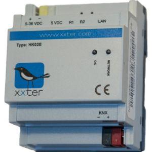 xxter dinrail met enOcean & KNX protocol + directe busverbinding