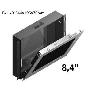 "Inbouwdoos RVS t.b.v. Touch PC 8.4"" WMK-PPC845"