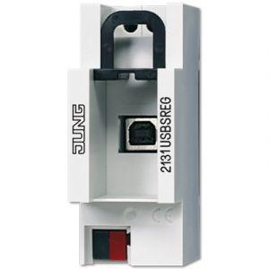 Jung KNX USB aansluiting dinrail