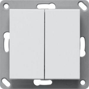 Weinzierl KNX TP drukknop 420 secure - dubbel