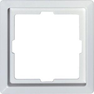 Afdekraam 1 voudig polarwit glanzend Systeem Design - VAN €5,25 VOOR €2,95