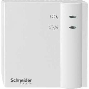 Schneider Electric KNX CO₂ luchtvochtigheid en temperatuursensor opbouw