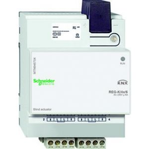Schneider Electric KNX jaloezieactor 4 voudig 6A