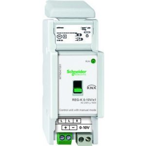 Schneider Electric KNX besturingseenheid 0-10V 1 voudig met handbediening
