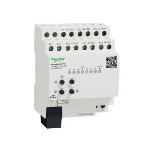Schneider Electric KNX verwarmingsactor met regeling 6 voudig 24V en 230V