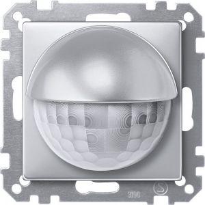 Schneider Electric KNX bewegingsmelder 180 / 2.20m inbouw aluminium Systeem M