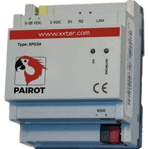 Pairot met KNX protocol + directe busverbinding dinrail