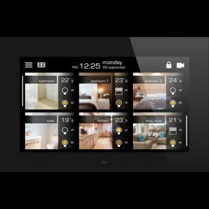 """Ingenium Bes VIIP 10"""" kleuren touchscreen zwart"""
