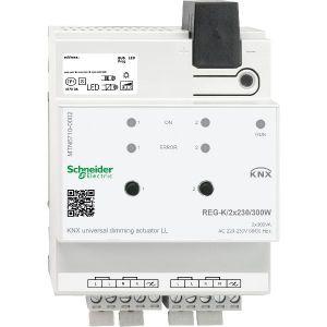 Schneider Electric KNX universele dimactor 2 voudig 300W