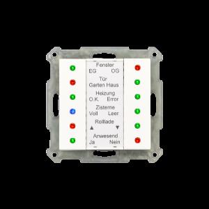 MDT LED Indicator 55mm wit glanzend