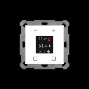 MDT Ruimtetemperatuur-uitbreiding Smart 55 zuiver wit glanzend