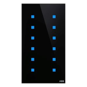 ABB KNX Touchsensor 12-voudig - zwart glas TB/U12.7.1-CG
