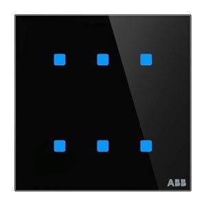 ABB KNX Touchsensor 6-voudig - zwart glas TB/U6.4.1-CG