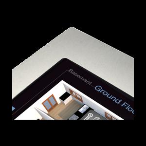 """ThinKnx Zilveren lijst voor Envision Touch Server 10"""""""