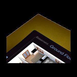 "ThinKnx Gouden lijst voor Envision Touch Server 10"""