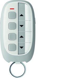 Hager KNX RF afstandsbediening sleutelhanger 4-voudig 4 toetsen grijs