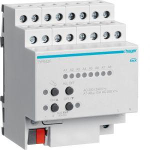 Hager KNX fancoilactor 2-voudig 10 A 230V