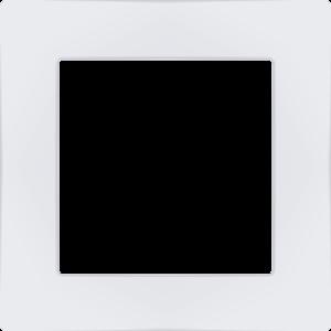Weinzierl 55mm afdekraam kunststof - wit