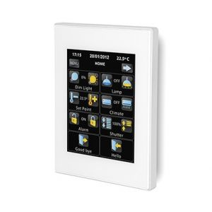 Zennio Z41 Pro wit met app - aluminium frame