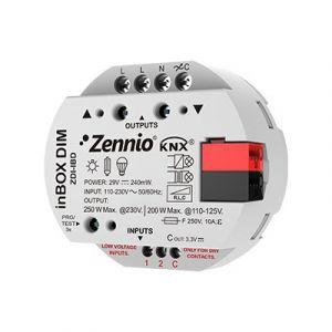 Zennio inBOX DIM - Universele dimmer inbouw 1 x 250W