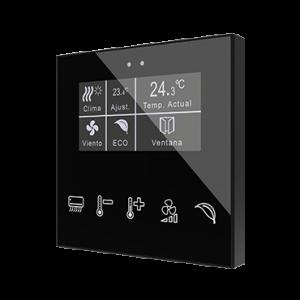 Zennio Flat Display capacitieve schakelaar met display custom design