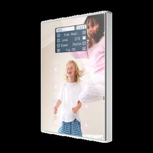 Zennio TMD Display View met kunststof frame - custom design